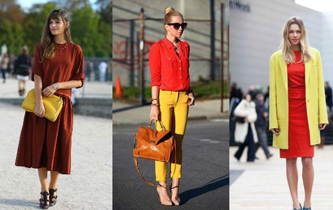 Combinação de cores da semana: vermelho e amarelo - Moda it