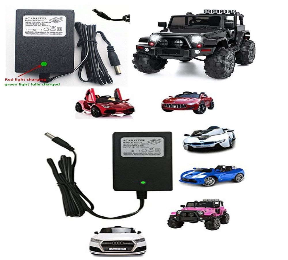 dd53b8d6 12V Kids Power Wheels Car Universal Charger Adaptor with Charging ...