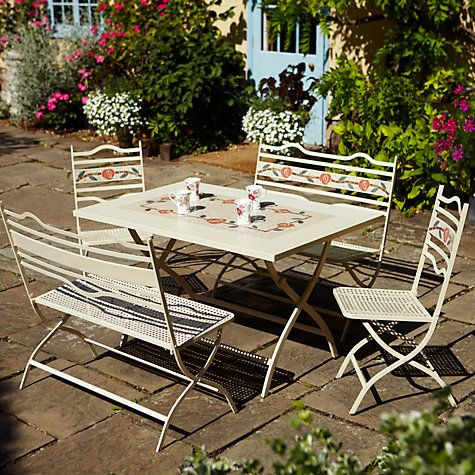 So pretty! Leisuregrow Claremont Dining Table with Chairs and ...