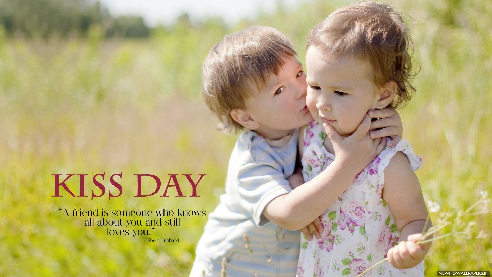 Cute Boy Kissing Baby Girl Photo 2015 New Hd Wallpapers Babies