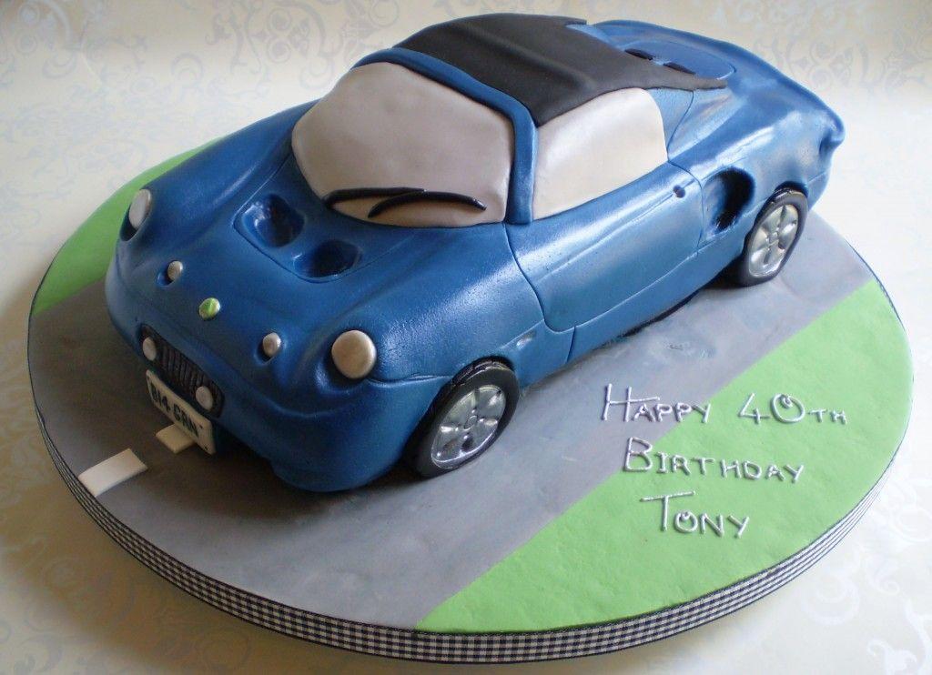 SIMPLY DELICIOUS CAKES BMW Birthday Cake 40th birthday