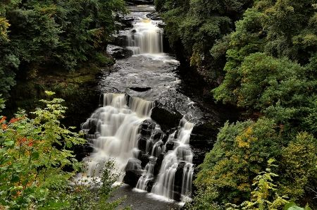 Corra Linn Falls Scotland Desktop Nexus Wallpapers