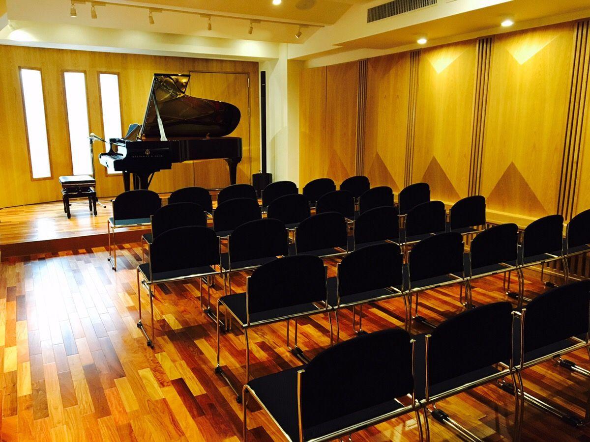 閑静な超高級住宅街に突如現れたピアノスタジオノア田園調布店、その全貌とはいかに! ピアノスタジオノア田園調布店