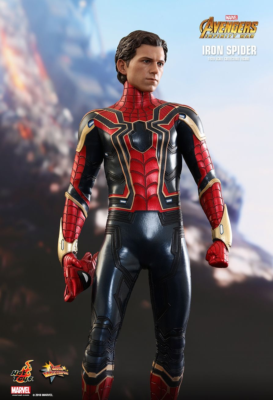 Hot Toys Iron Spider Avengers Infinity War With Images Hot Toys