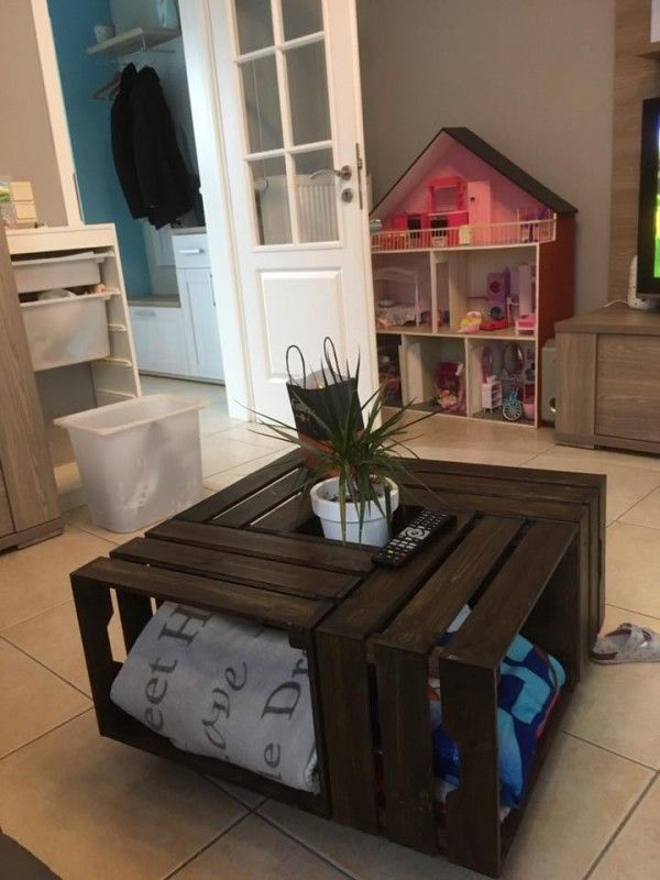 Astuces Ikea Pour Decorer Et Gagner De La Place Buanderie Cuisine Fabriquer Une Table Basse Table Basse Diy Idee Deco Rangement