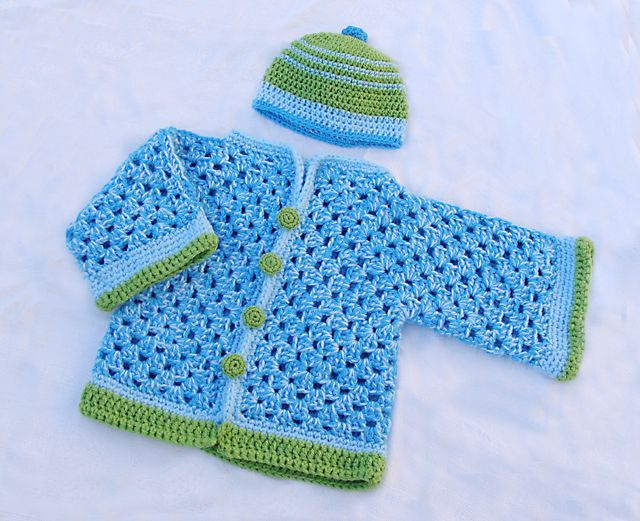 Crochet Baby Sweater Pattern Free Easy Buscar Con Google Baby