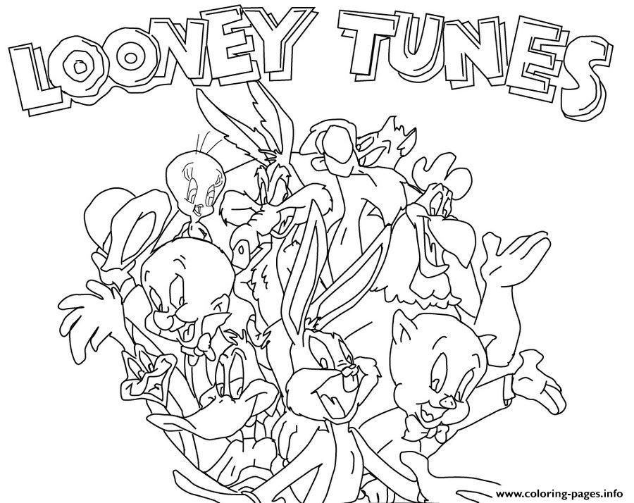 Print looney tunes colouring pages for kids0c4e coloring