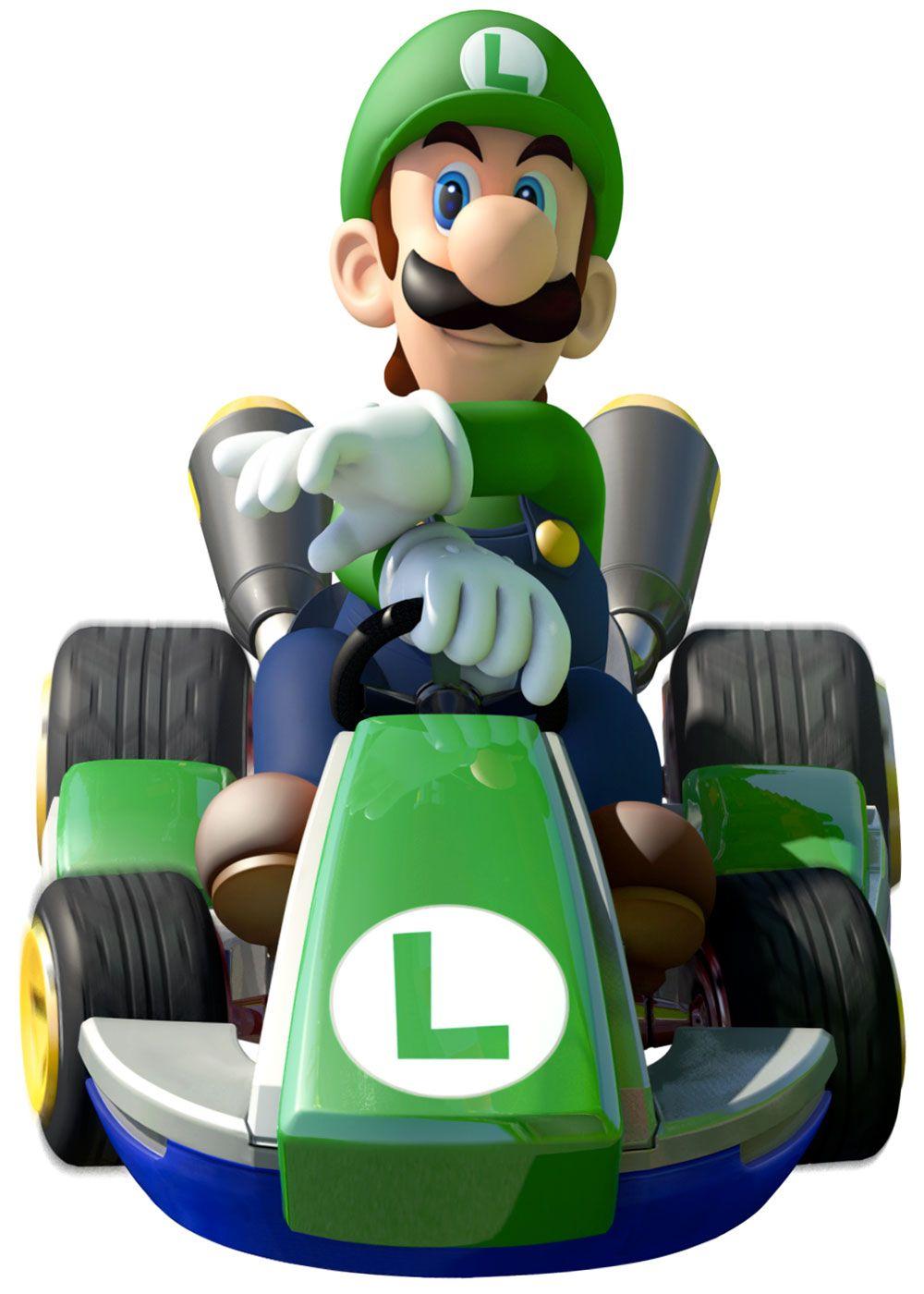 Luigi Mario Kart 8 Super Mario Kart Mario Kart 8 Mario