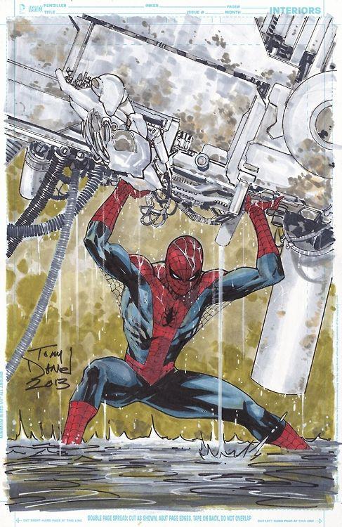 Spider-Man by Tony Daniel