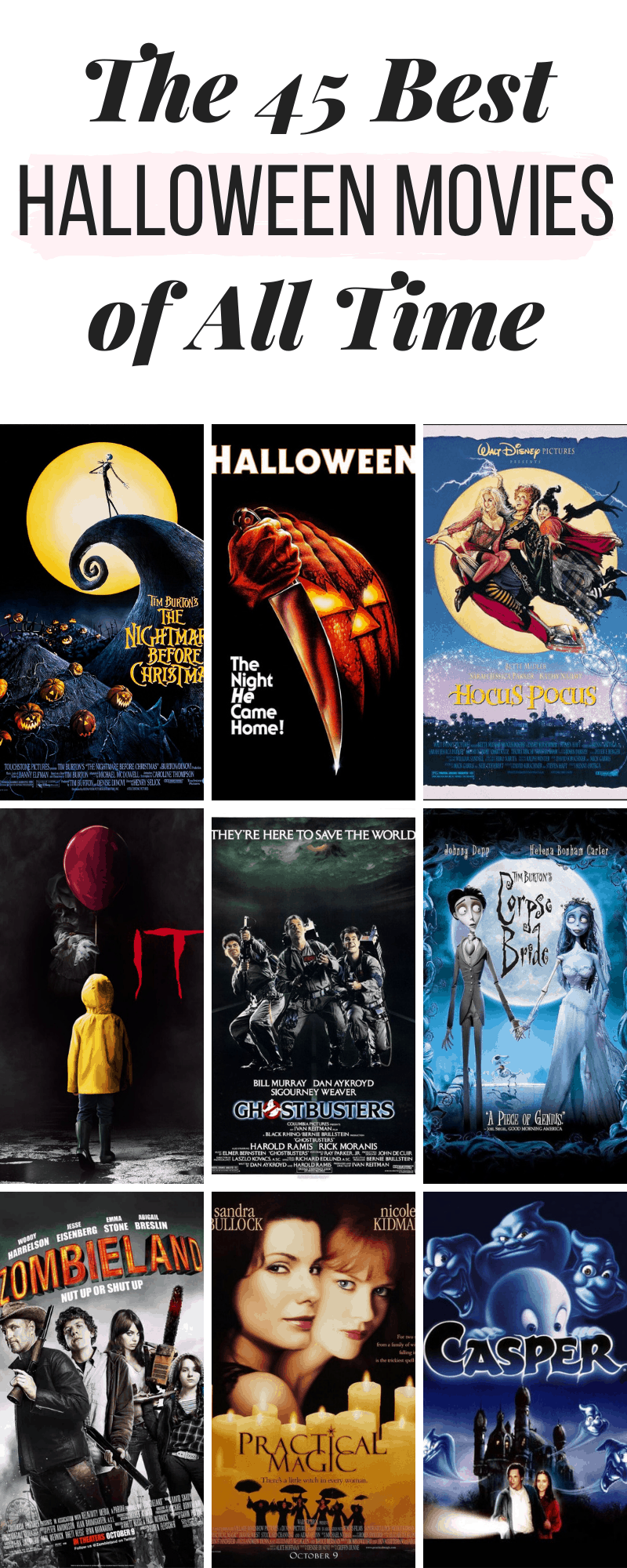 Best Halloween movies of all time Best halloween movies