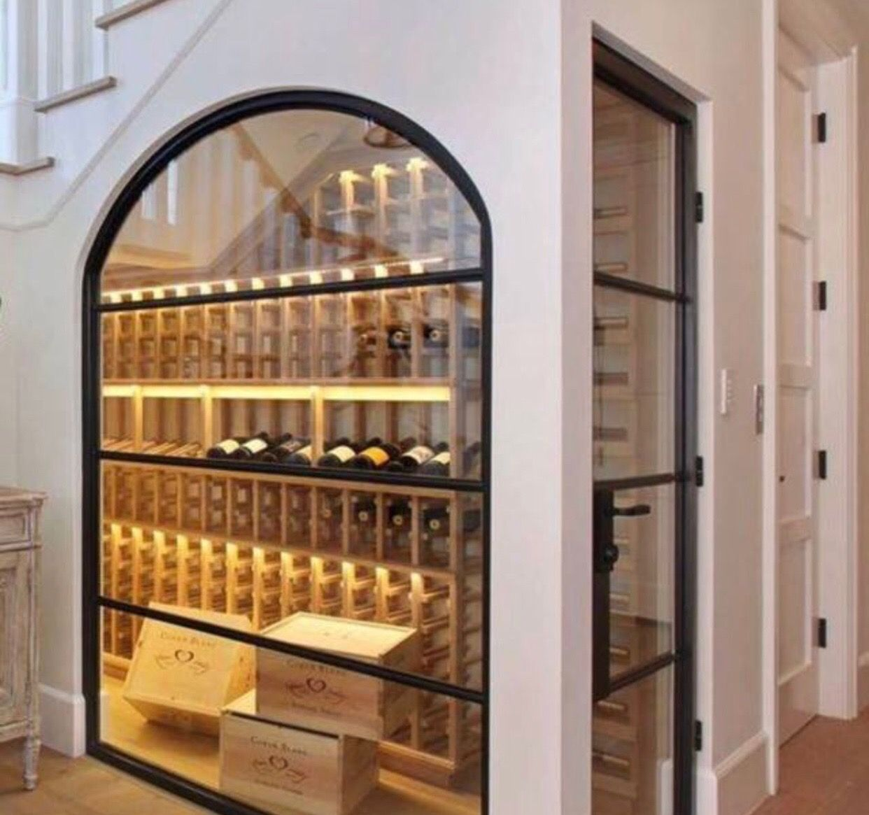 Wine Room Under The Stairs Goals