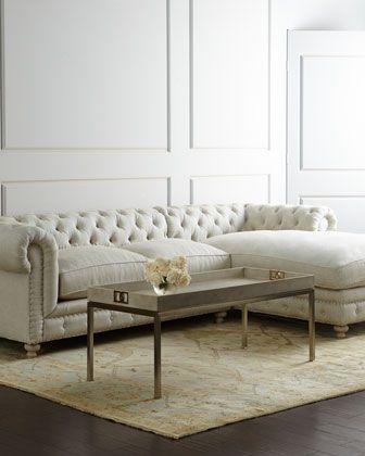 Warner Linen Sofa 74 | design: the general | Linen sofa ...