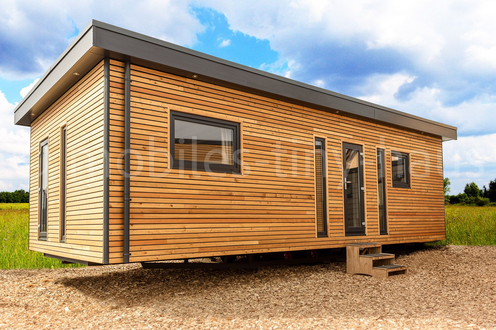 Mobiles Chalet Canada Unser Highlight ?? Mobiles haus