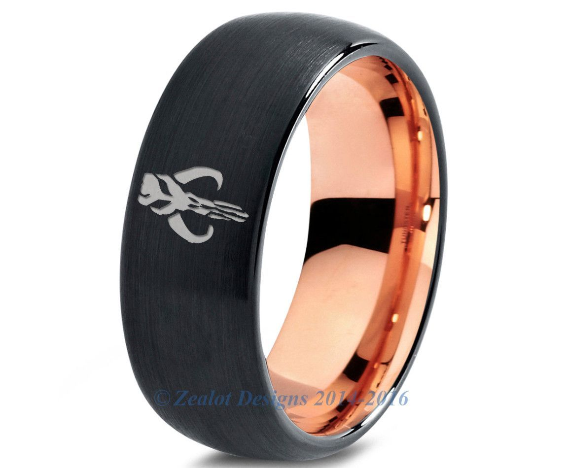 Star wars wedding rings for girls