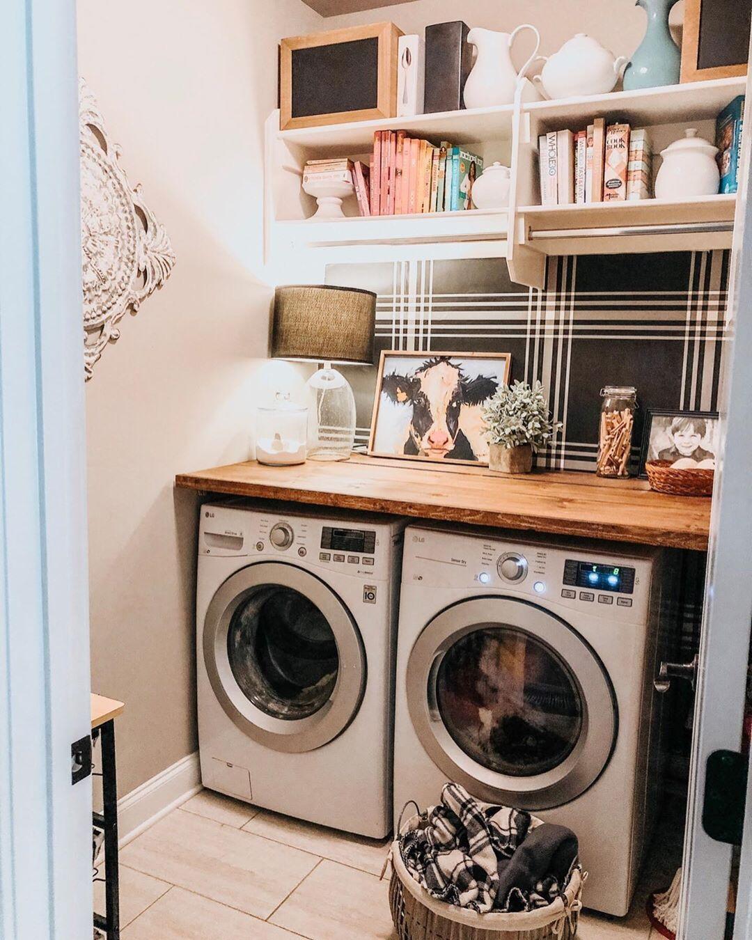 Budget Laundry Room Makeover Budget Laundry Room Makeover