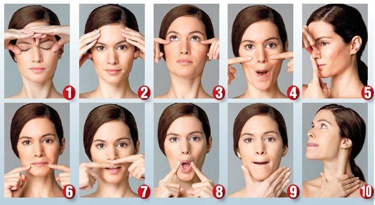 Gesichtsmuskeln Trainieren