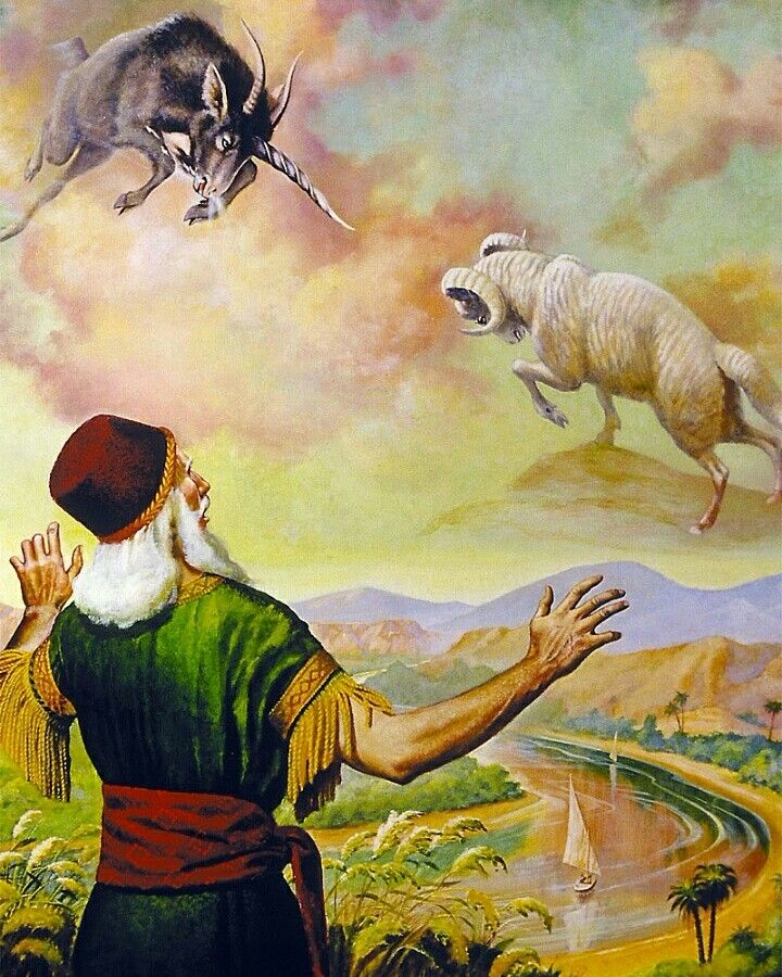 Daniel's Vision of a Ram and a Goat