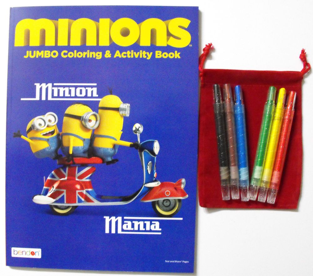 Minions Bundle 64 Page Coloring