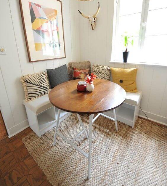 23 Exquisite Corner Breakfast Nook Ideas In Various Styles With
