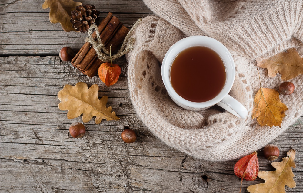 Wallpaper Autumn Leaves Background Tree Coffee Colorful Cup Wood Background Aut Winter Wallpaper Desktop Tree Desktop Wallpaper Desktop Wallpaper Fall