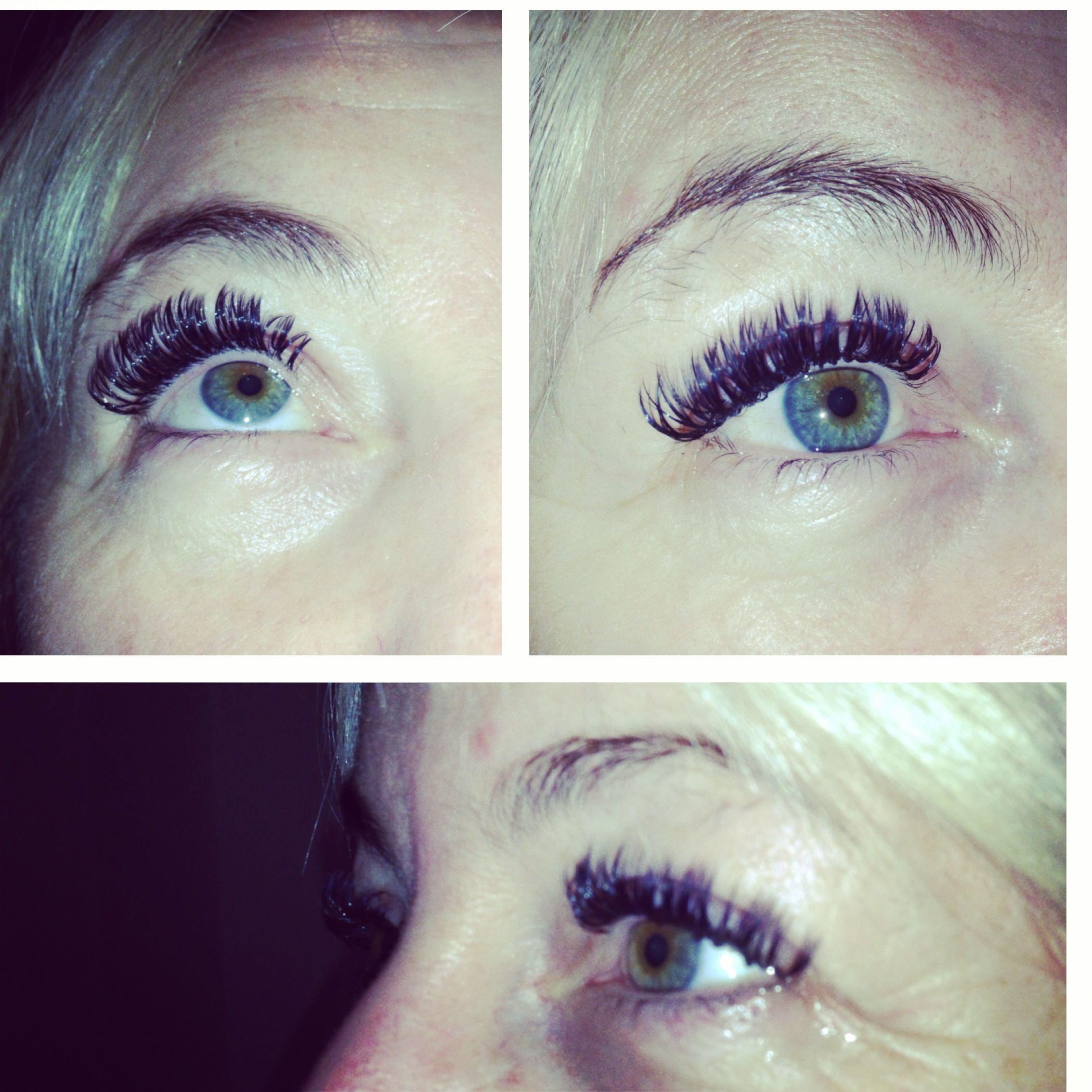 Individual Semipermanent Eyelash Extensions Birmingham Uk 4d Lashes
