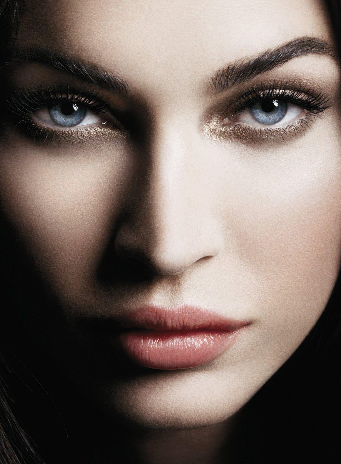 Megan Fox for Armani Beauty, 2011 Beautiful eyes