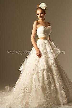 rose colored wedding dresses wedding dresses designer wedding dresses rose gold