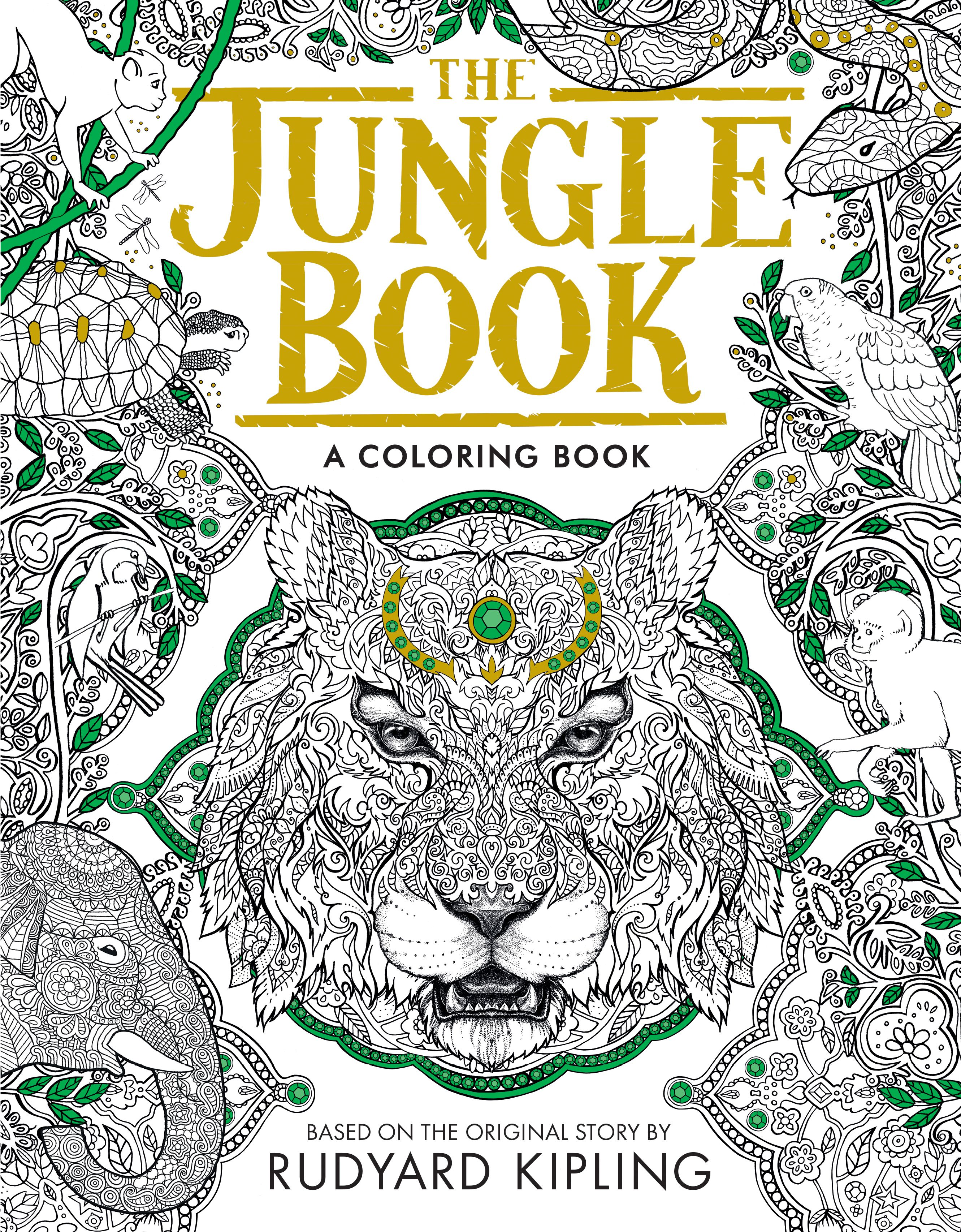 Jungle book colouring in pictures - The Macmillan Jungle Book Colouring Book Disney The Jungle Book