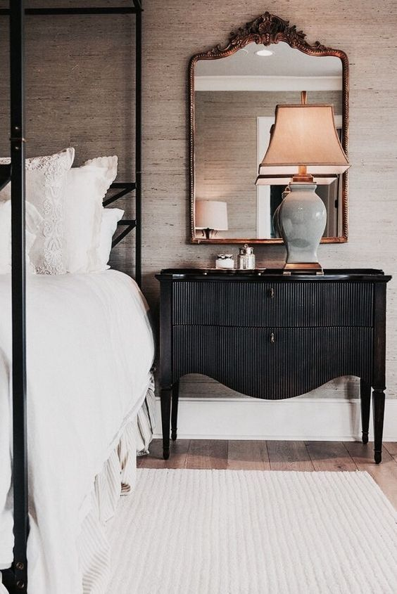 Get To Know Unique Nightstands For Your Bedroom In Mid Century Contemporary Industrial Or Vintage Style By Some Traditional Bedroom European Home Decor Home