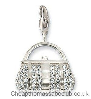 2017 New Items Diy Floating Lockets Zircon Handbag Charm Pendants For Jewelry Making