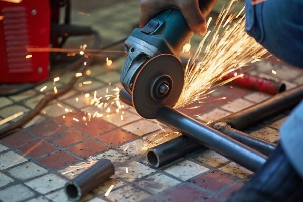 Tips To Remember When Using An Angle Grinder On Stone Kizifriv Angle Grinder Power Tools Stone