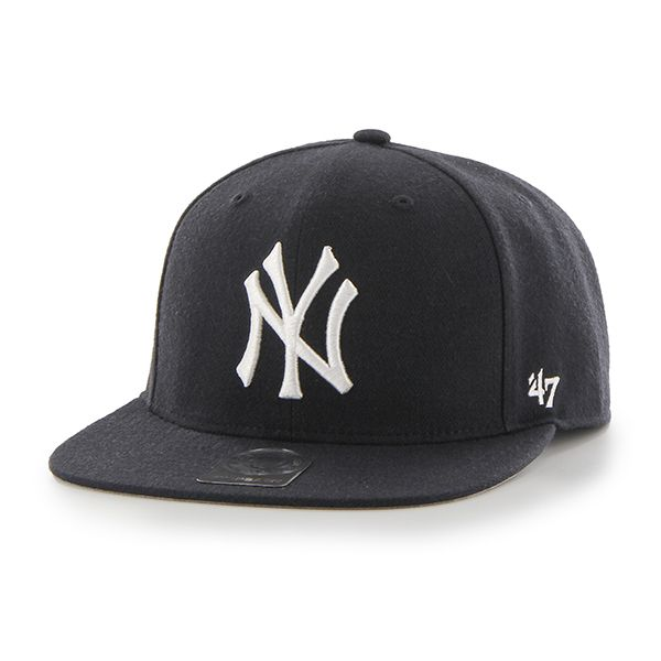 6d1bfd80 New York Yankees No Shot Captain Navy 47 Brand YOUTH Hat | New York ...