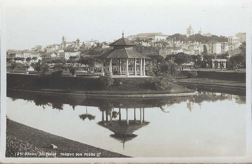 Ilha dos Amores em cartão postal. Acredito que a imagem seja do final do século XIX - Autor Desconhecido