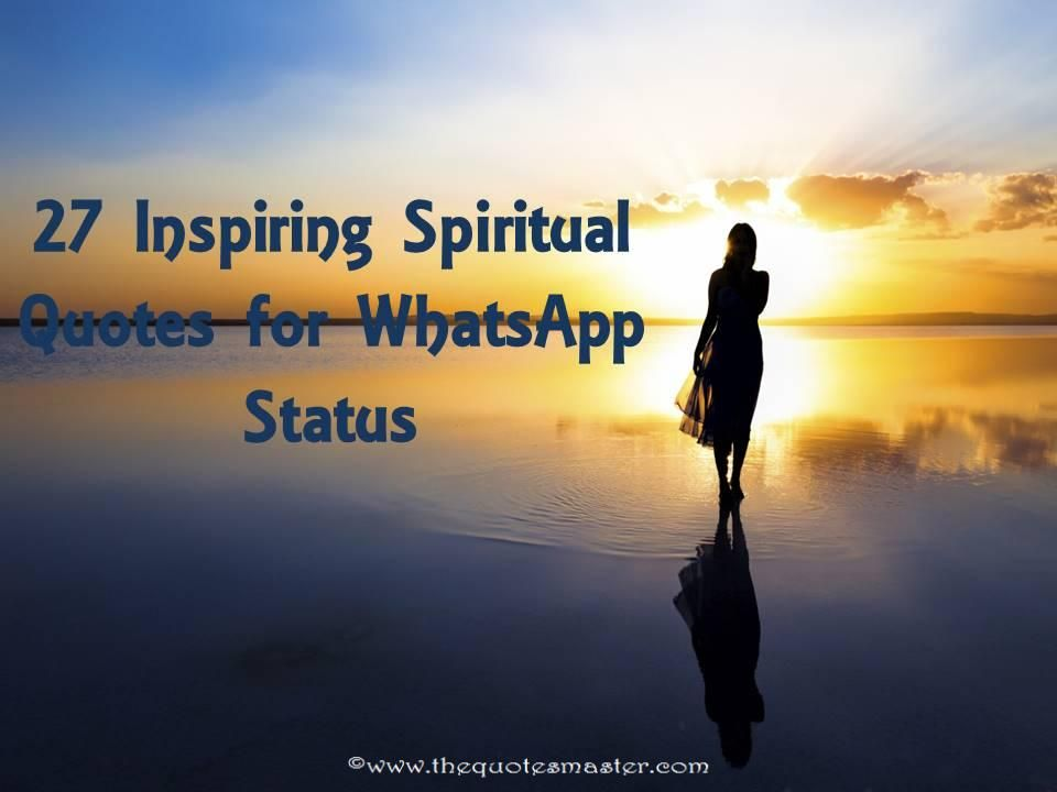inspiring spiritual quotes for whatsapp status inspiring