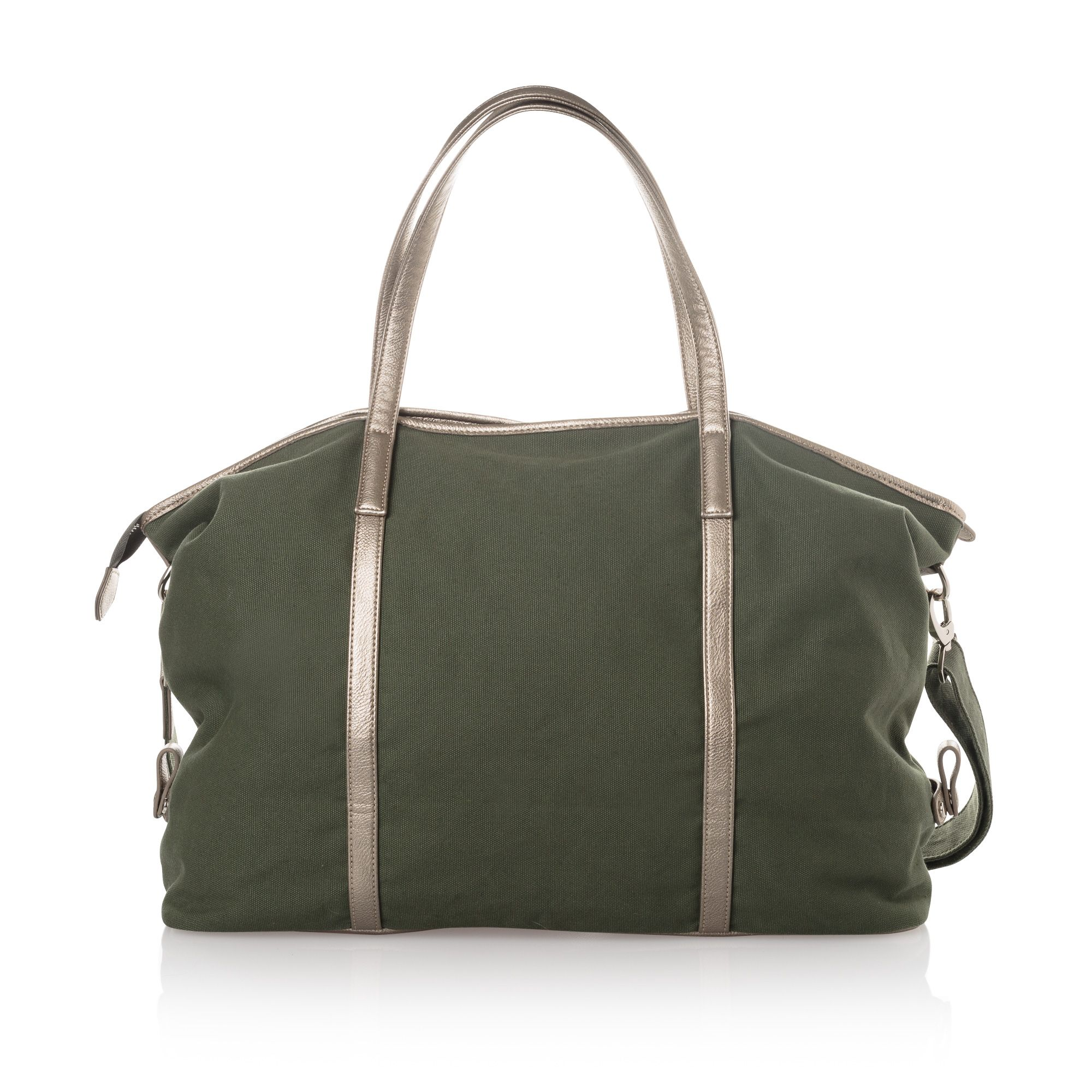 Buy the Olivia Overnight Canvas Weekend Bag at Oliver Bonas. fc4e81499dee4