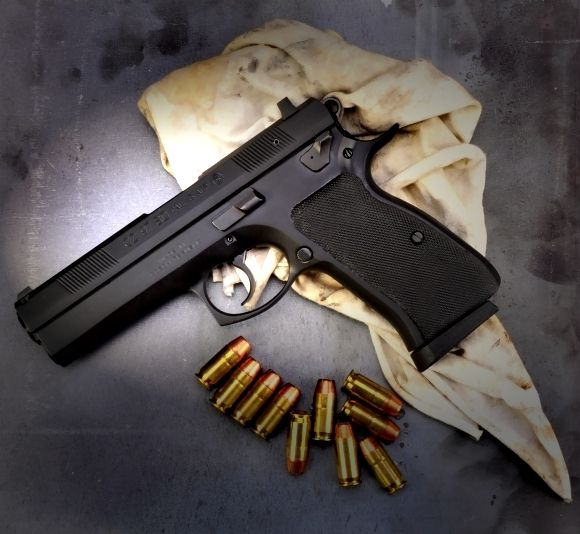 Real Guns - The CZ 97 BD Standard - A Serious  45 ACP and