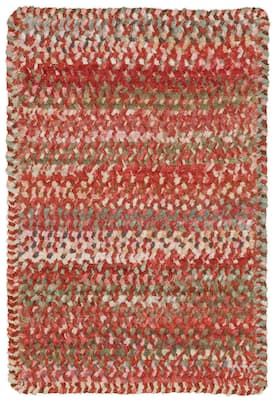 Capel Pink Ocracoke 0425 Rug Braided Rectangle 1 8 X 2 6 Area Rugs Area Rug Decor Rugs