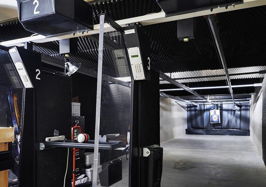 majestic home indoor shooting range design. The Club has a long  positive history in Tiverton and ensured that their indoor outdoor ranges adhere to strict industry standards as pu