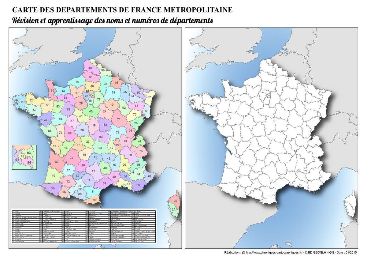 Resultat De Recherche D Images Pour Coloriage Carte De France Des
