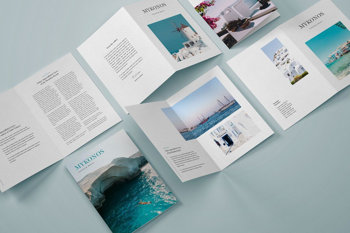 Download Mockup Brochure 3 Fold Yellowimages