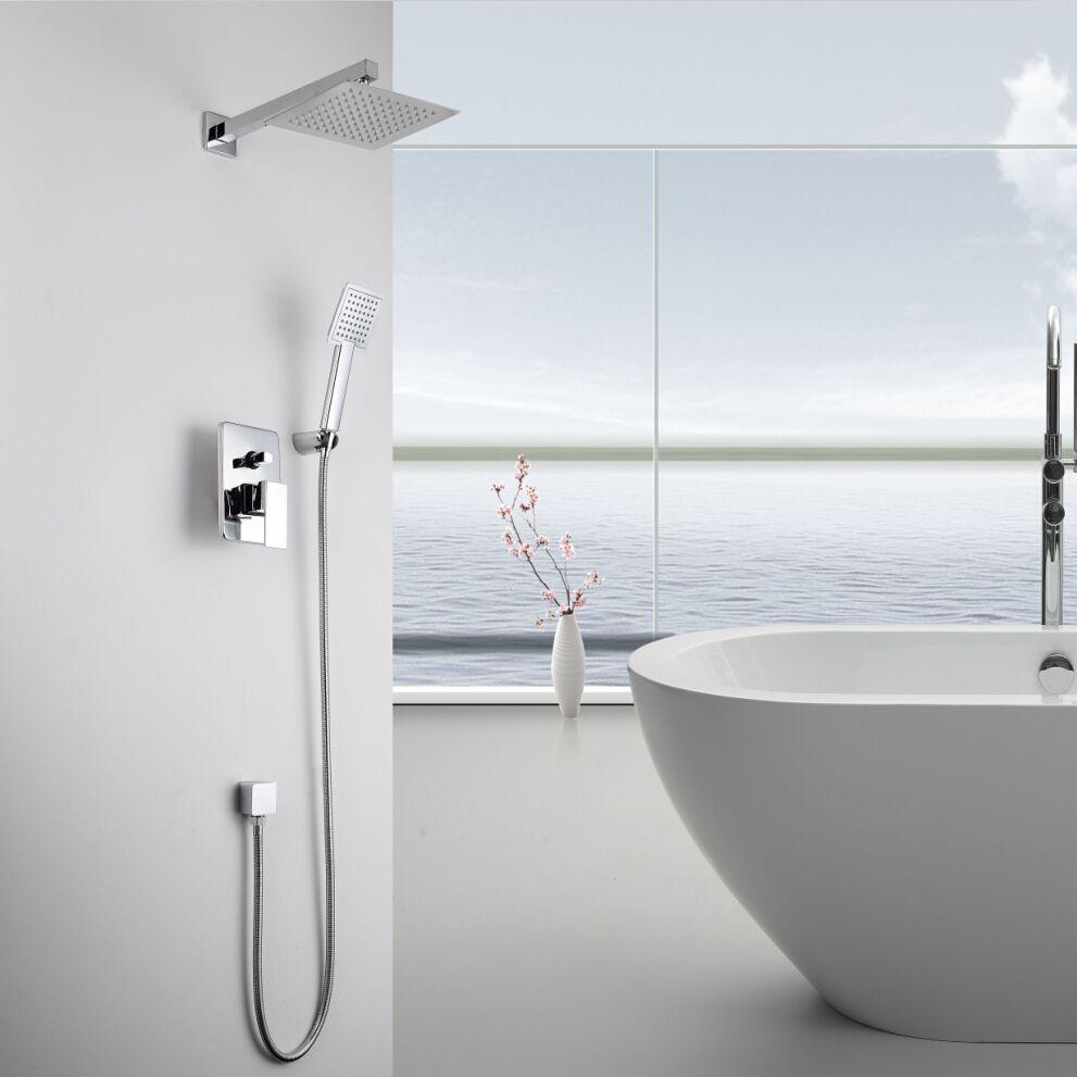 KiaRog Concealed Shower Faucet.Bathroom Shower Set.250 MM (10 ...