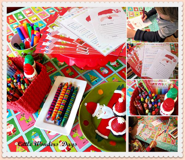 Santa Letter Writing Party, This is such a sweet idea My - suggestion letter
