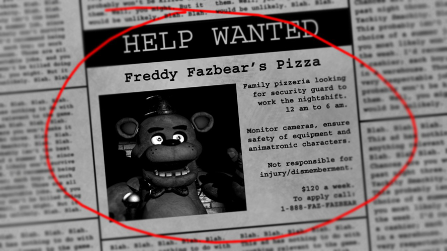 Mike Schmidt Five Night Fnaf Night Guards Five Nights At Freddy S