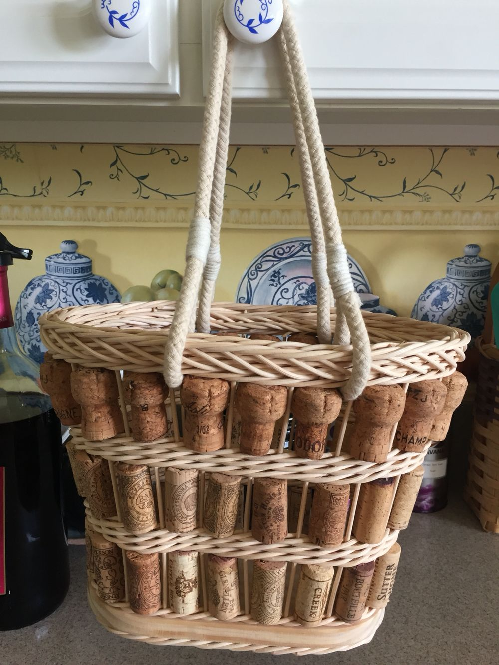 Wine cork basket Wine cork basket