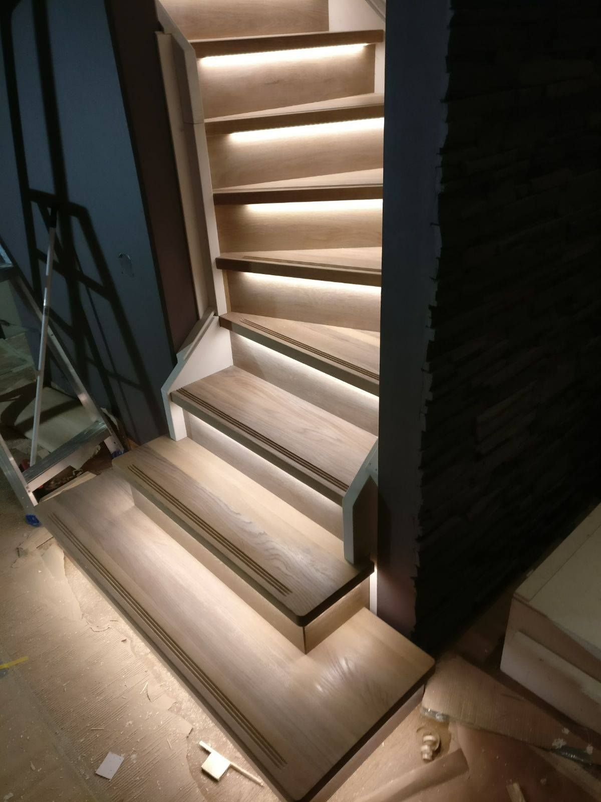 Basement Stair Lighting Ideas: Pin By Dovile Valiune On Dance On The Floor In 2019
