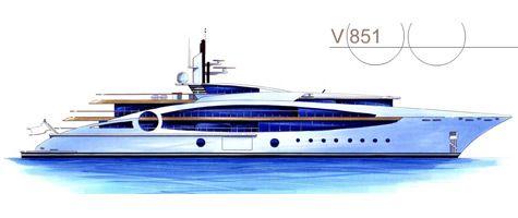 V851 Yacht Concept By VegaYachts