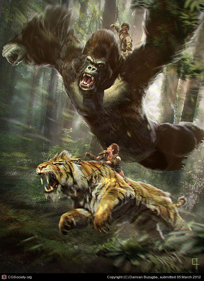 устроить картинки лев против человека большинстве