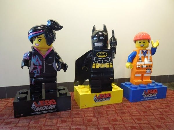 Lego movie cinema standee display   Movie costumes & props ...