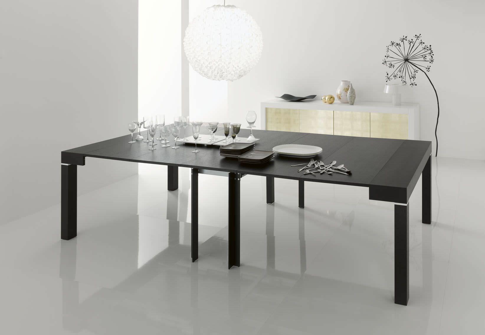 Idee da salotto: tavoli consolle allungabili di design