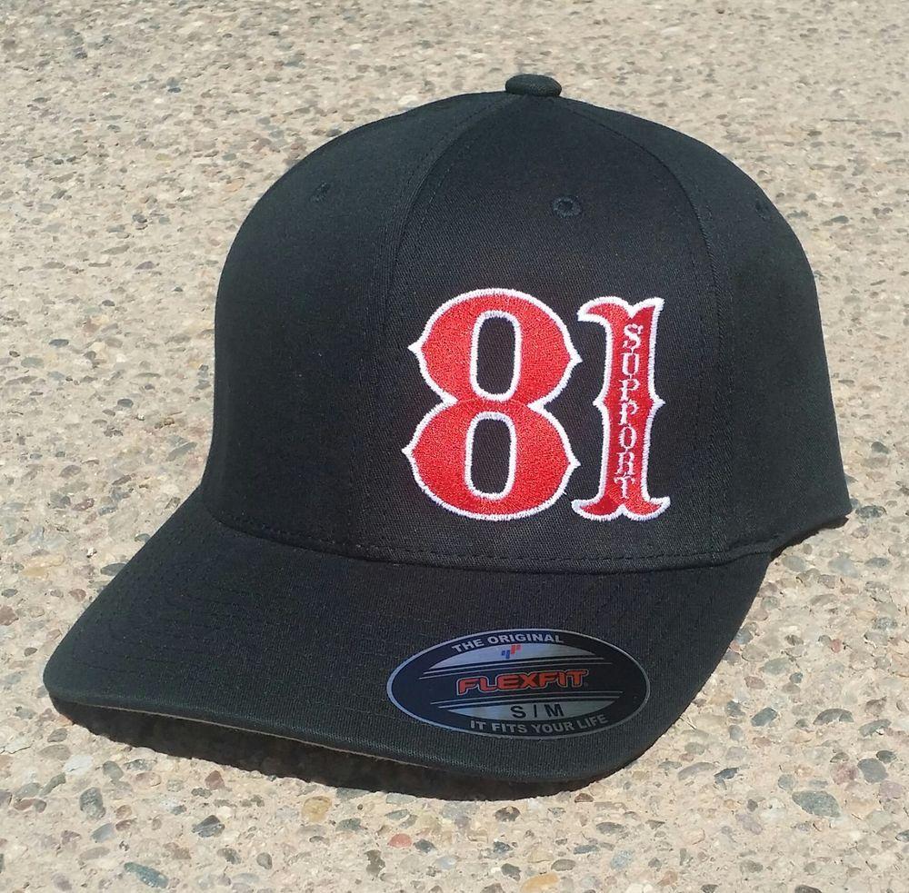 NEW - Hells Angels CaveCreek Black 81 Support Cap | Camaro ss